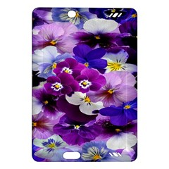 Graphic Background Pansy Easter Amazon Kindle Fire Hd (2013) Hardshell Case