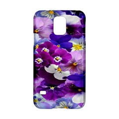 Graphic Background Pansy Easter Samsung Galaxy S5 Hardshell Case