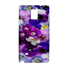 Graphic Background Pansy Easter Samsung Galaxy Note 4 Hardshell Case