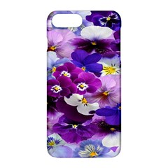 Graphic Background Pansy Easter Apple Iphone 8 Plus Hardshell Case