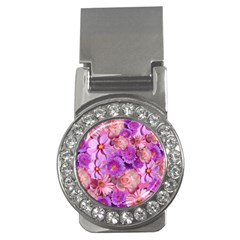 Flowers Blossom Bloom Nature Color Money Clips (cz)