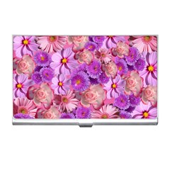 Flowers Blossom Bloom Nature Color Business Card Holders