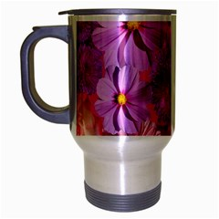 Flowers Blossom Bloom Nature Color Travel Mug (silver Gray)