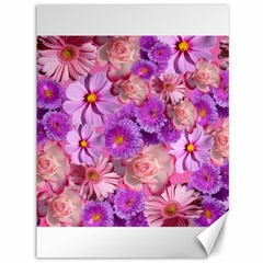 Flowers Blossom Bloom Nature Color Canvas 36  X 48