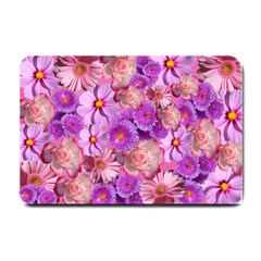 Flowers Blossom Bloom Nature Color Small Doormat