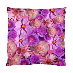 Flowers Blossom Bloom Nature Color Standard Cushion Case (two Sides)