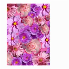 Flowers Blossom Bloom Nature Color Small Garden Flag (two Sides)