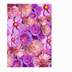 Flowers Blossom Bloom Nature Color Large Garden Flag (two Sides)