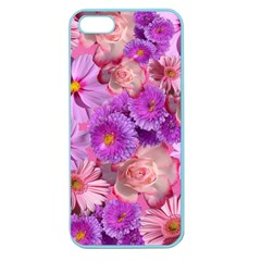Flowers Blossom Bloom Nature Color Apple Seamless Iphone 5 Case (color)