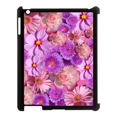 Flowers Blossom Bloom Nature Color Apple Ipad 3/4 Case (black)