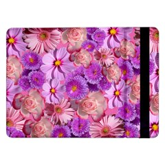 Flowers Blossom Bloom Nature Color Samsung Galaxy Tab Pro 12 2  Flip Case