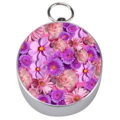 Flowers Blossom Bloom Nature Color Silver Compasses