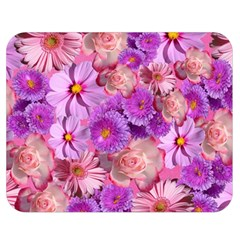 Flowers Blossom Bloom Nature Color Double Sided Flano Blanket (medium)