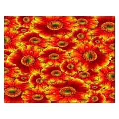 Gerbera Flowers Nature Plant Rectangular Jigsaw Puzzl