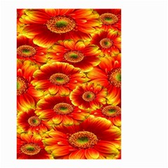 Gerbera Flowers Nature Plant Small Garden Flag (two Sides)