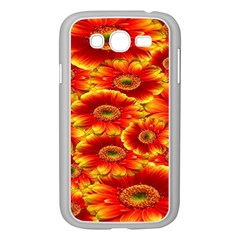 Gerbera Flowers Nature Plant Samsung Galaxy Grand Duos I9082 Case (white)