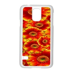 Gerbera Flowers Nature Plant Samsung Galaxy S5 Case (white)