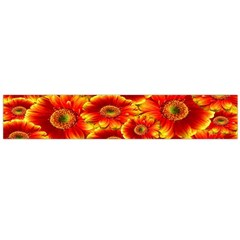 Gerbera Flowers Nature Plant Large Flano Scarf
