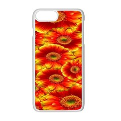 Gerbera Flowers Nature Plant Apple Iphone 8 Plus Seamless Case (white)