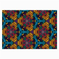 Grubby Colors Kaleidoscope Pattern Large Glasses Cloth (2 Side)