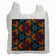Grubby Colors Kaleidoscope Pattern Recycle Bag (one Side)