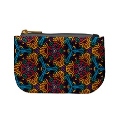 Grubby Colors Kaleidoscope Pattern Mini Coin Purses