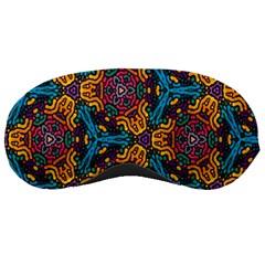 Grubby Colors Kaleidoscope Pattern Sleeping Masks