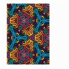 Grubby Colors Kaleidoscope Pattern Large Garden Flag (two Sides)