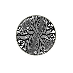 Fractal Symmetry Pattern Network Hat Clip Ball Marker