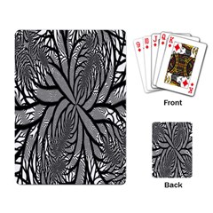 Fractal Symmetry Pattern Network Playing Card
