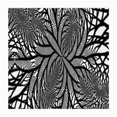 Fractal Symmetry Pattern Network Medium Glasses Cloth (2 Side)