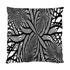 Fractal Symmetry Pattern Network Standard Cushion Case (one Side)