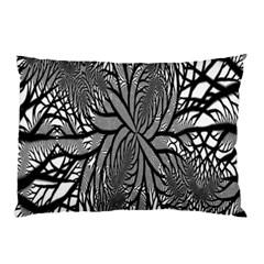 Fractal Symmetry Pattern Network Pillow Case