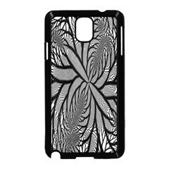 Fractal Symmetry Pattern Network Samsung Galaxy Note 3 Neo Hardshell Case (black)