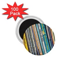 Bookcase Books Data Education 1 75  Magnets (100 Pack)