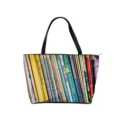 Bookcase Books Data Education Shoulder Handbags