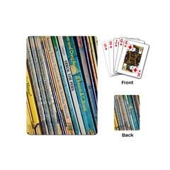 Bookcase Books Data Education Playing Cards (mini)