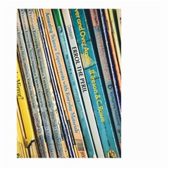 Bookcase Books Data Education Large Garden Flag (two Sides)