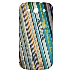 Bookcase Books Data Education Samsung Galaxy S3 S Iii Classic Hardshell Back Case