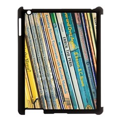 Bookcase Books Data Education Apple Ipad 3/4 Case (black)