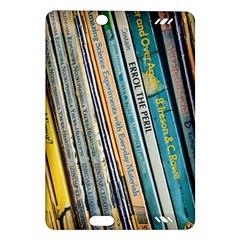 Bookcase Books Data Education Amazon Kindle Fire Hd (2013) Hardshell Case