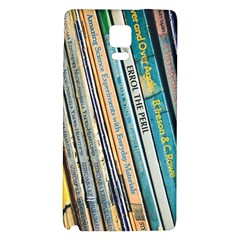 Bookcase Books Data Education Galaxy Note 4 Back Case