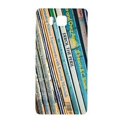 Bookcase Books Data Education Samsung Galaxy Alpha Hardshell Back Case