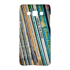 Bookcase Books Data Education Samsung Galaxy A5 Hardshell Case
