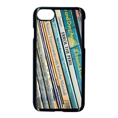 Bookcase Books Data Education Apple Iphone 8 Seamless Case (black)