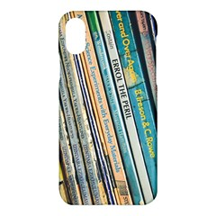 Bookcase Books Data Education Apple Iphone X Hardshell Case