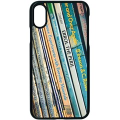 Bookcase Books Data Education Apple Iphone X Seamless Case (black)
