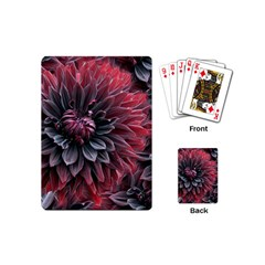 Flower Fractals Pattern Design Creative Playing Cards (mini)