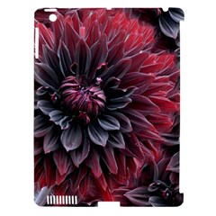Flower Fractals Pattern Design Creative Apple Ipad 3/4 Hardshell Case (compatible With Smart Cover)