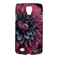 Flower Fractals Pattern Design Creative Galaxy S4 Active